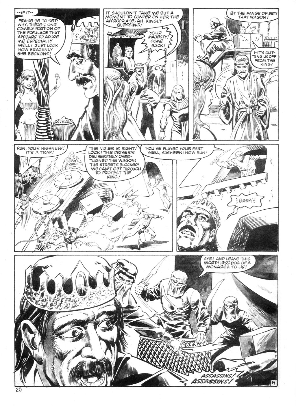 The Savage Sword Of Conan Issue #94 #95 - English 19