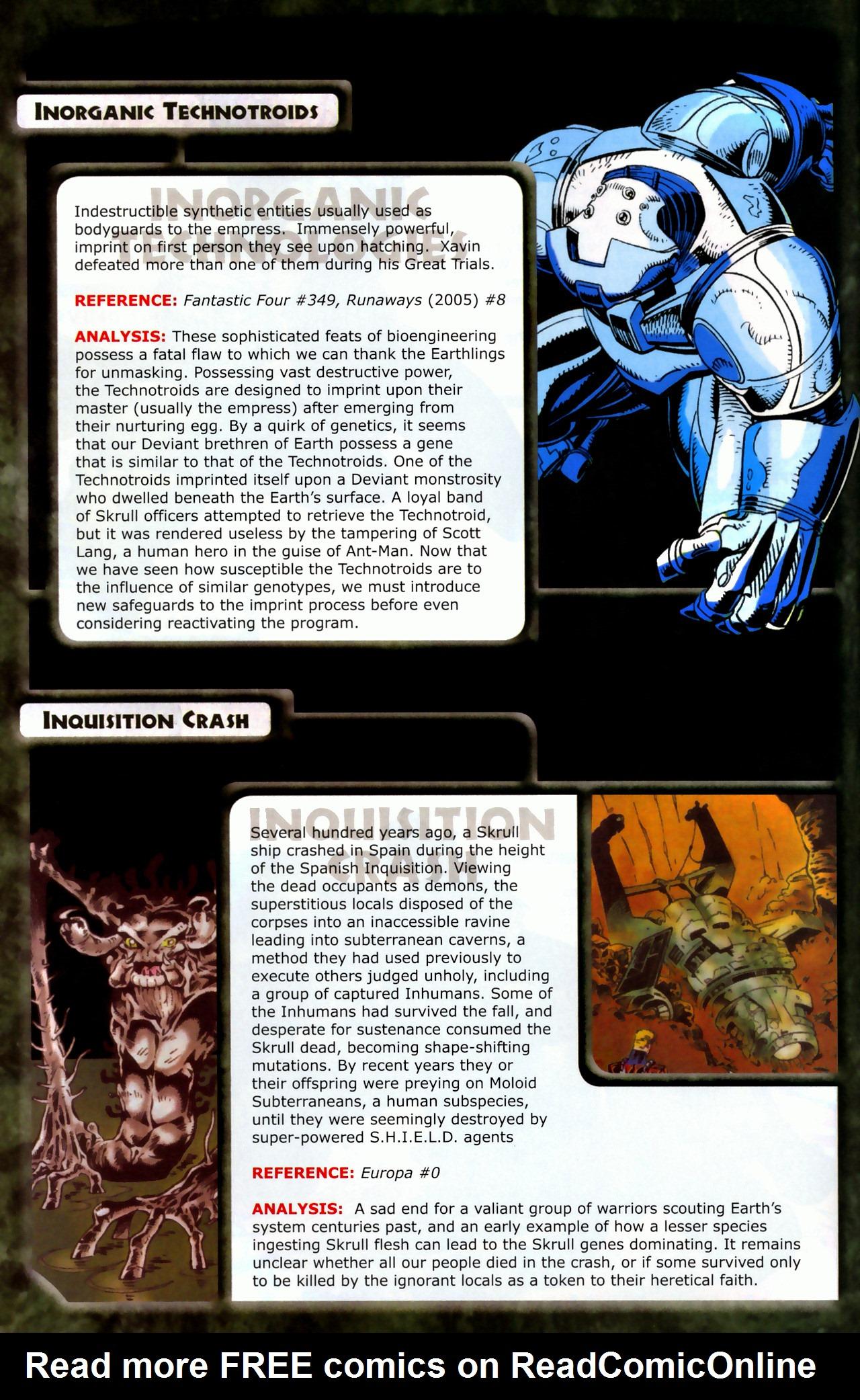 Read online Skrulls! comic -  Issue # Full - 20