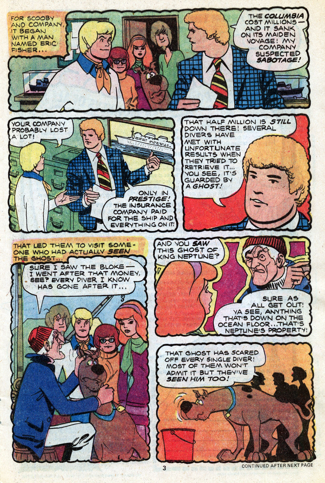 Read online Scooby-Doo (1977) comic -  Issue #3 - 5