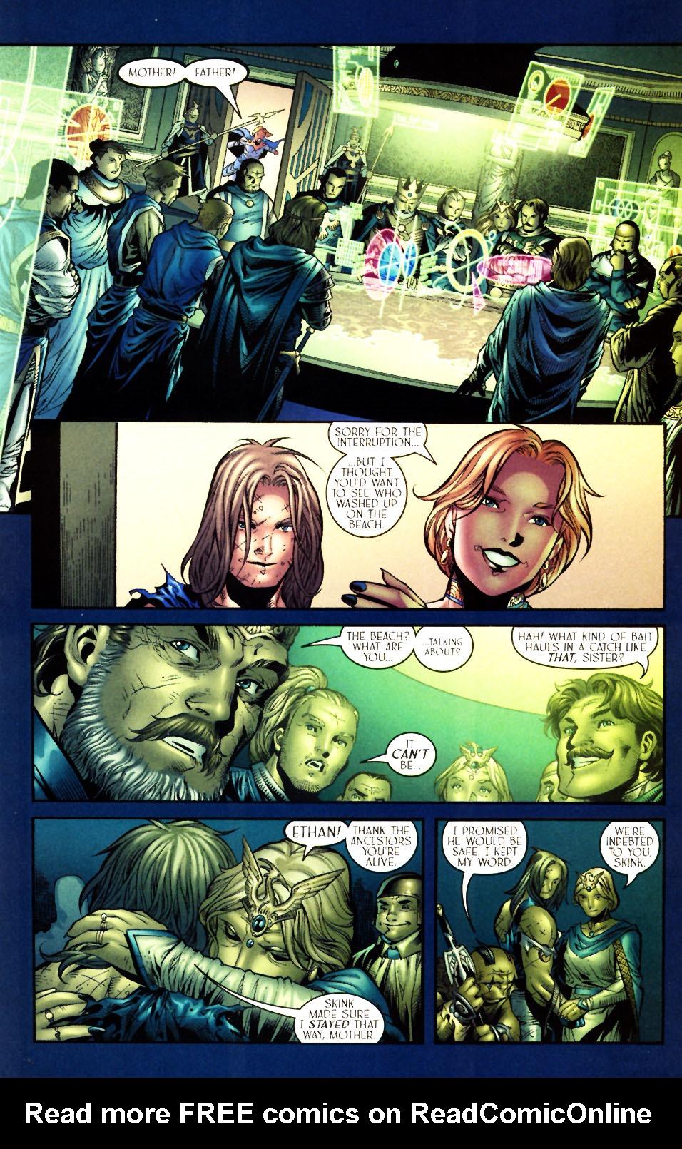 Read online Scion comic -  Issue #5 - 19