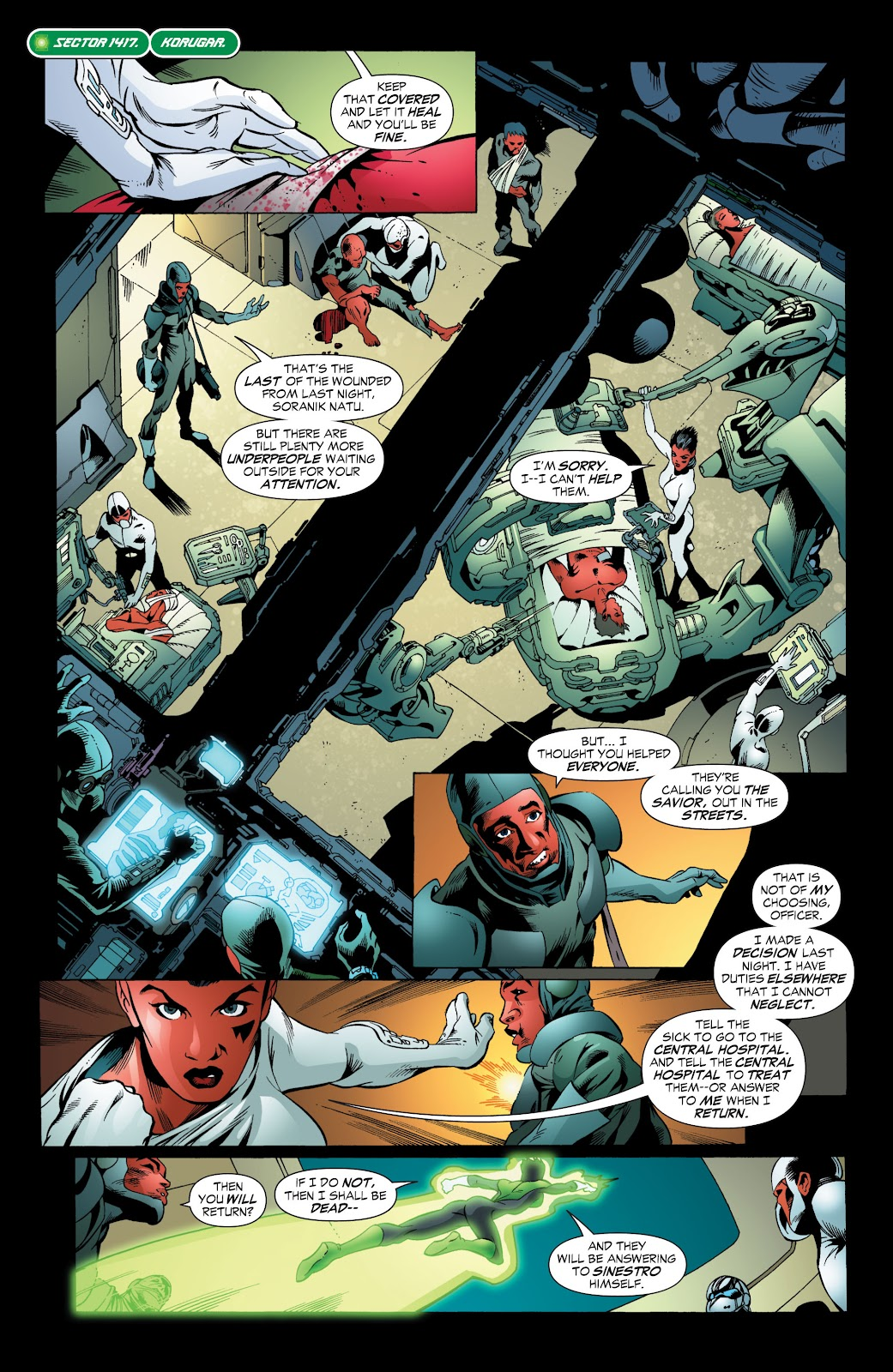 Green Lantern: The Sinestro Corps War Full #1 - English 124