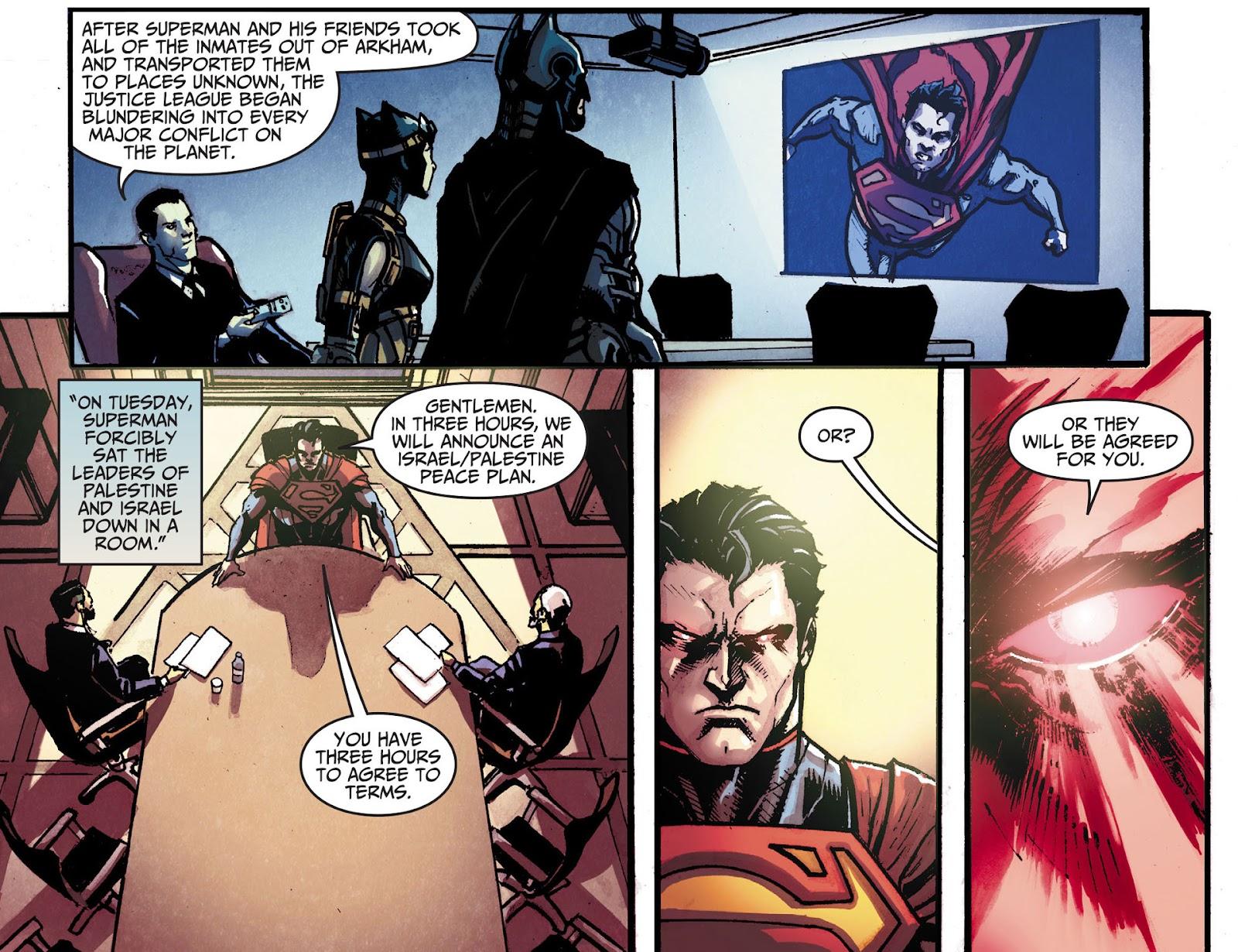 Injustice: Gods Among Us [I] Issue #18 #19 - English 8