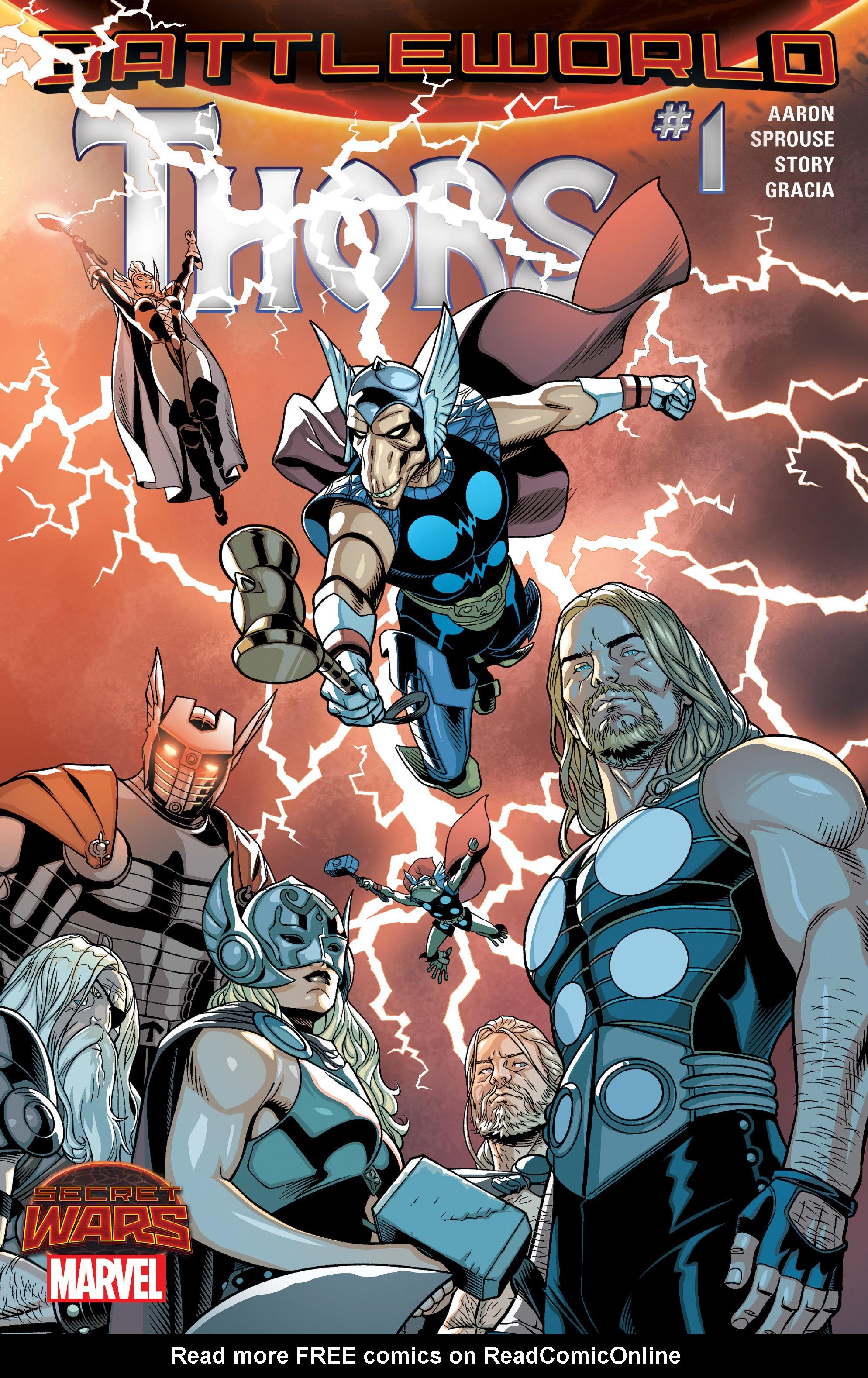 Thors #1 #4 - English 1