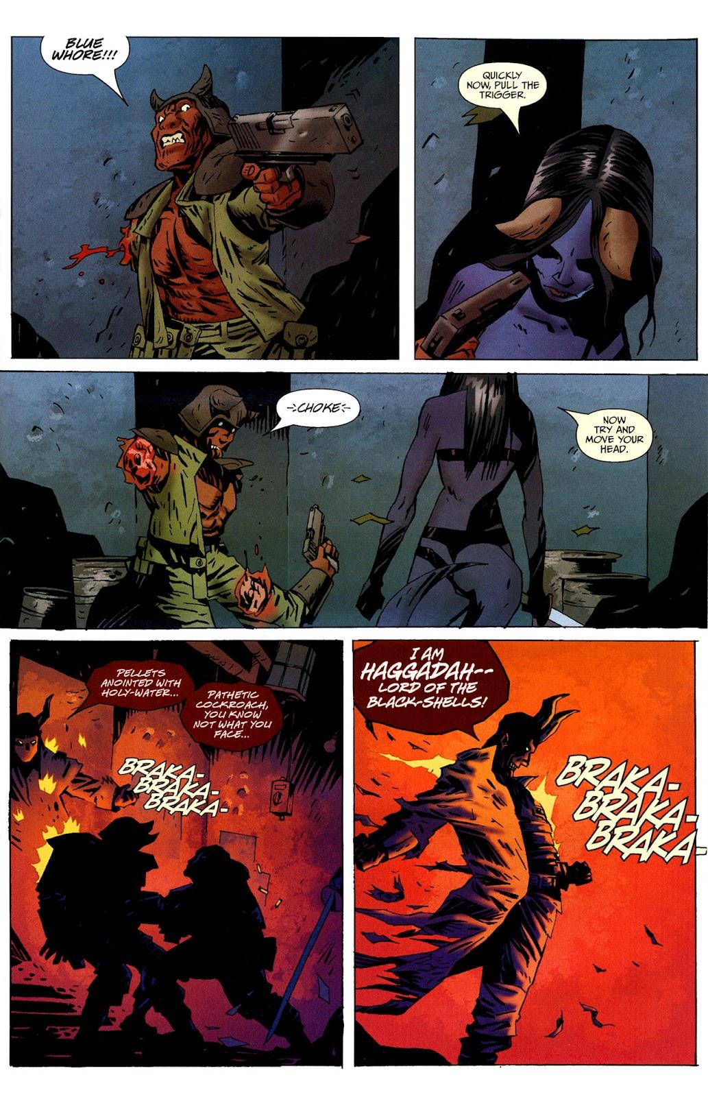 Strange Girl Issue #16 #17 - English 7