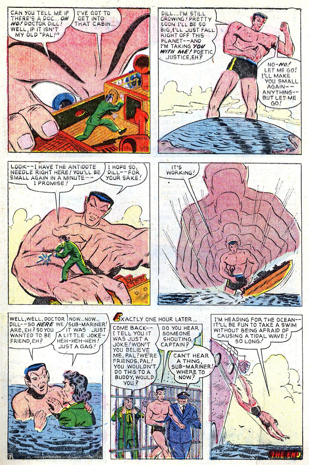 Sub-Mariner Comics #31 #31 - English 8
