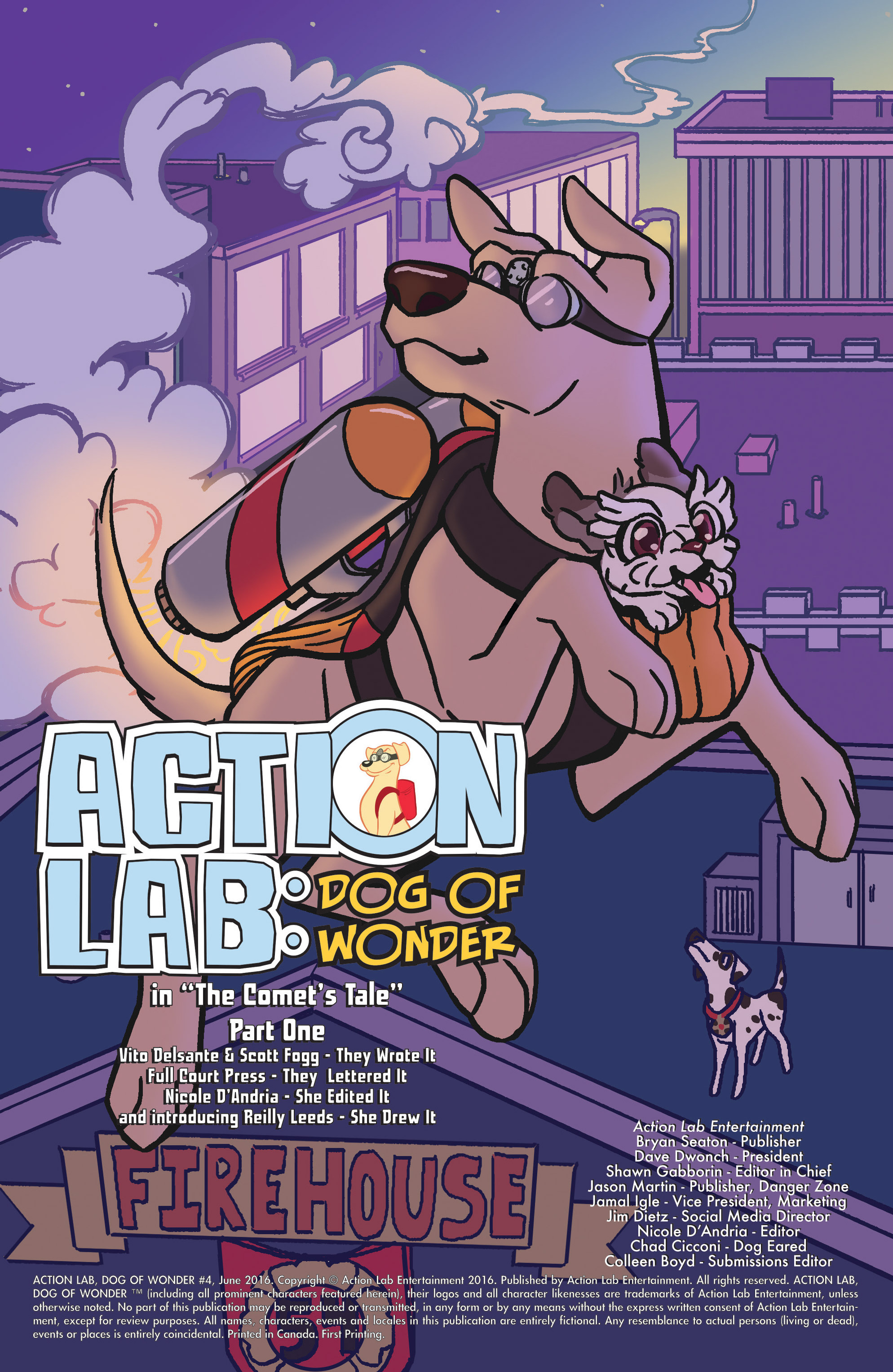 Read online Action Lab, Dog of Wonder comic -  Issue #4 - 3