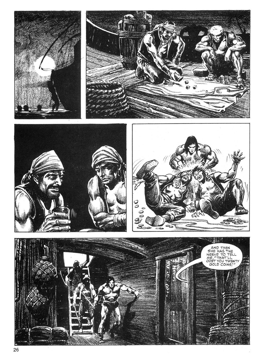 The Savage Sword Of Conan Issue #89 #90 - English 26