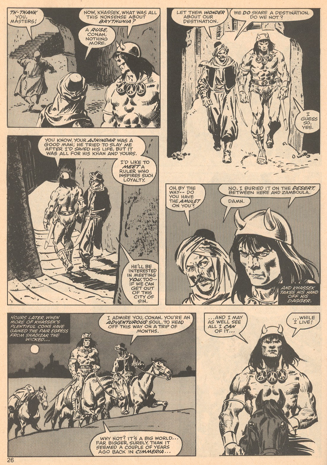 The Savage Sword Of Conan Issue #56 #57 - English 26