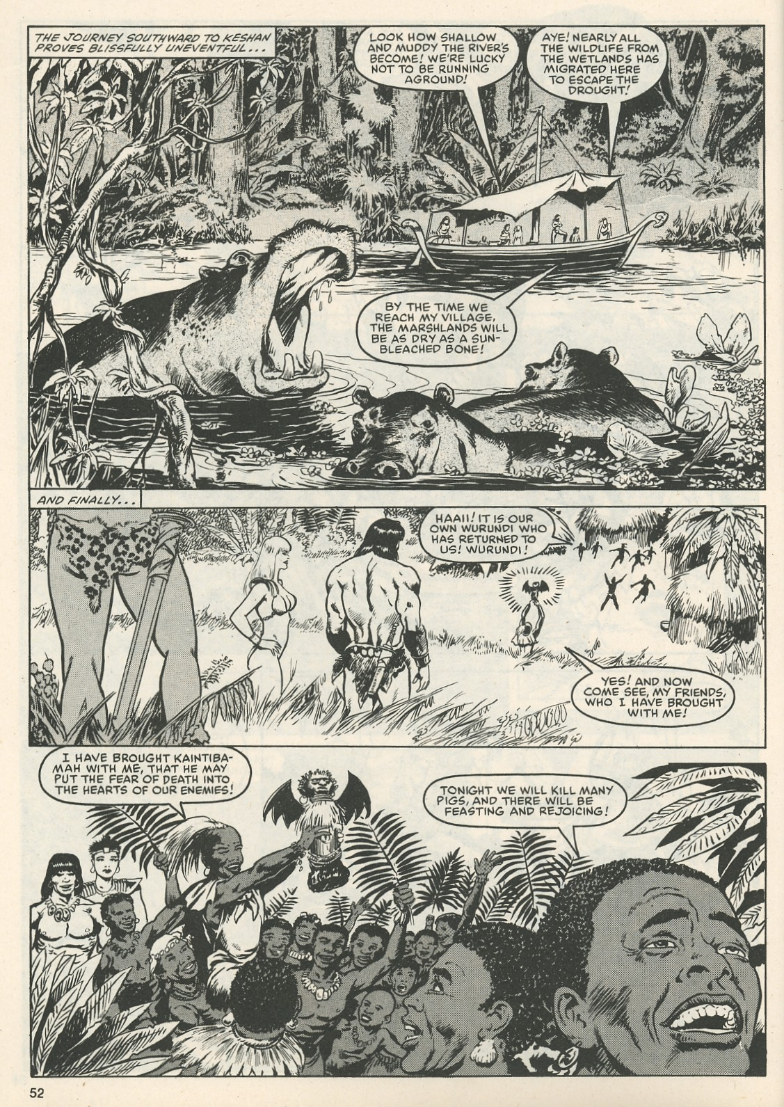 The Savage Sword Of Conan Issue #111 #112 - English 54