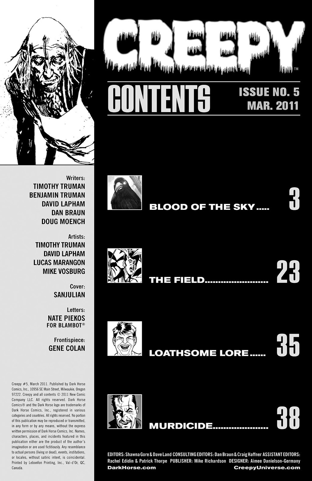 Creepy (2009) Issue #5 #5 - English 3
