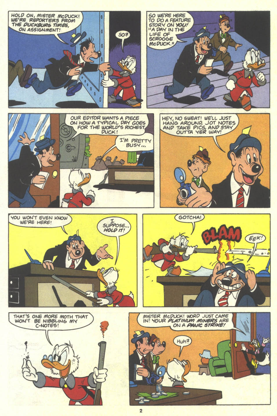 Uncle Scrooge (1953) Issue #259 #259 - English 19