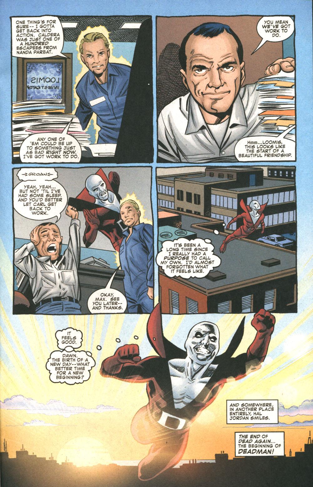 Read online Deadman: Dead Again comic -  Issue #5 - 23