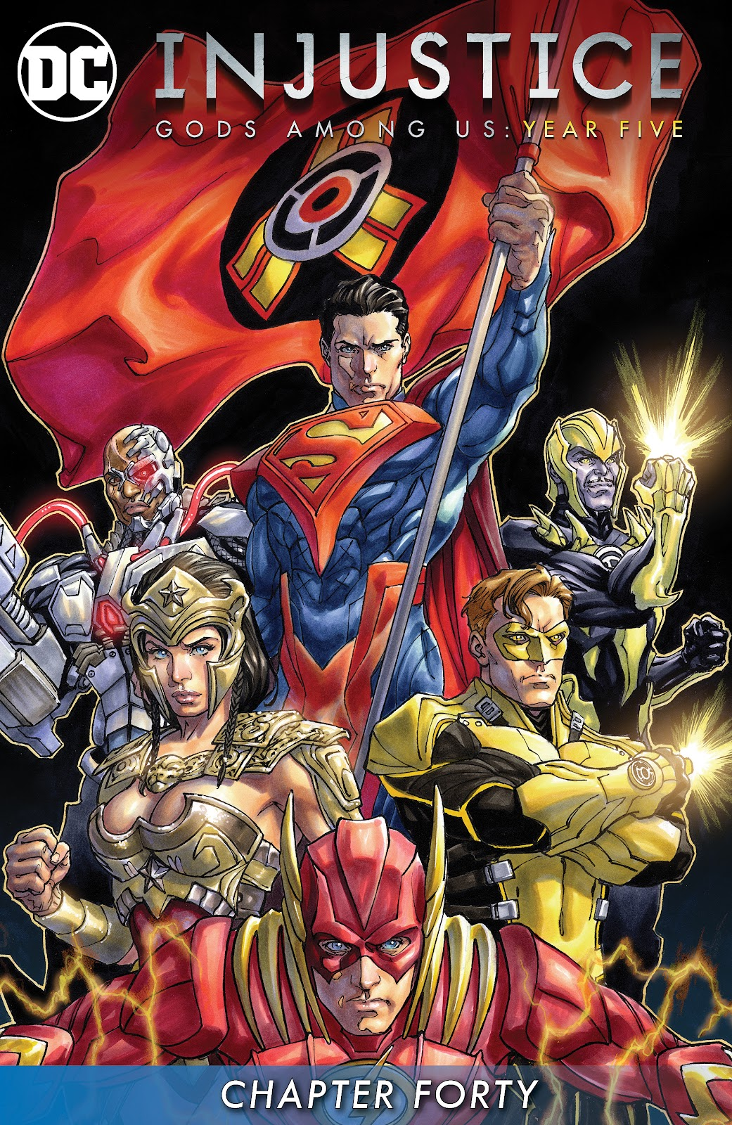 Injustice: Gods Among Us: Year Five Issue #40 #41 - English 2