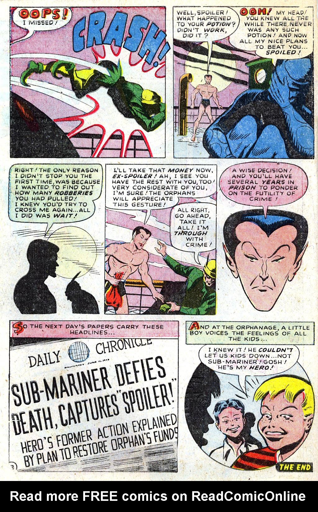 Sub-Mariner Comics #31 #31 - English 31
