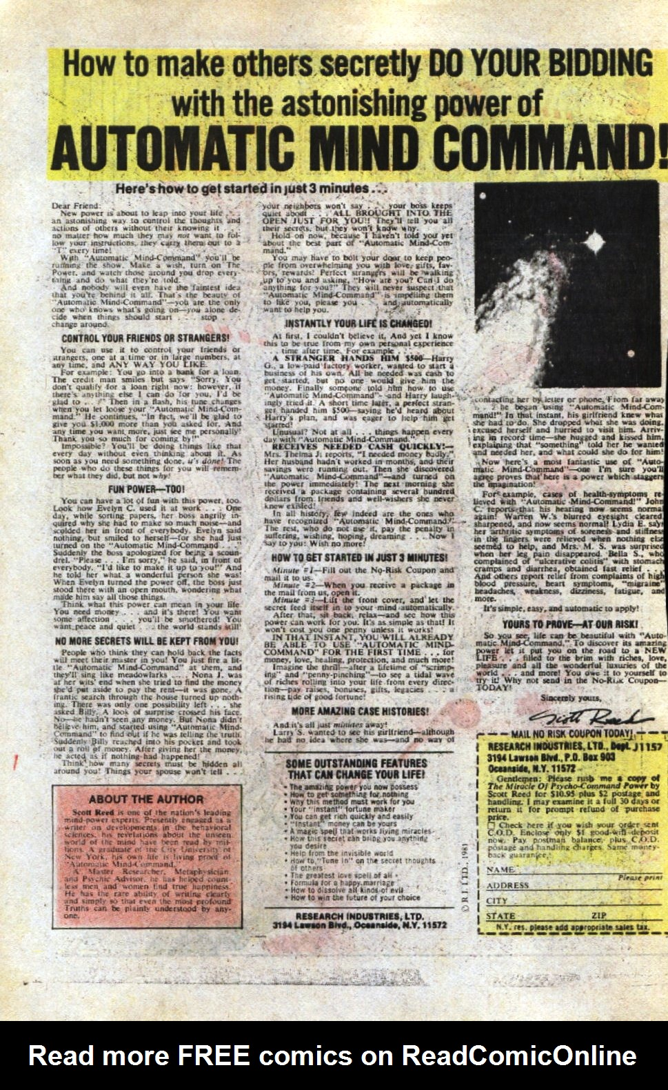 Read online Scary Tales comic -  Issue #32 - 34
