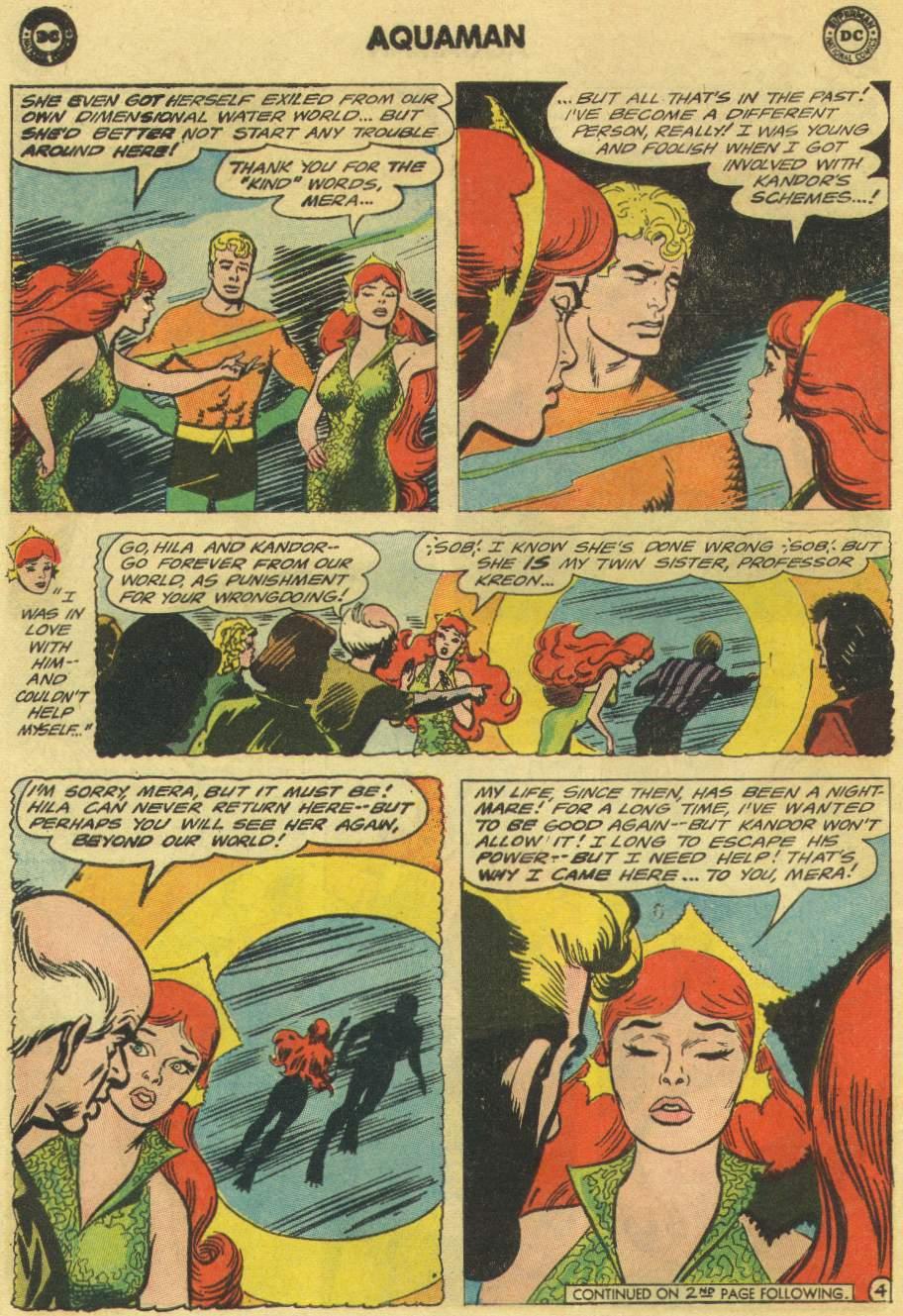 Read online Aquaman (1962) comic -  Issue #22 - 6