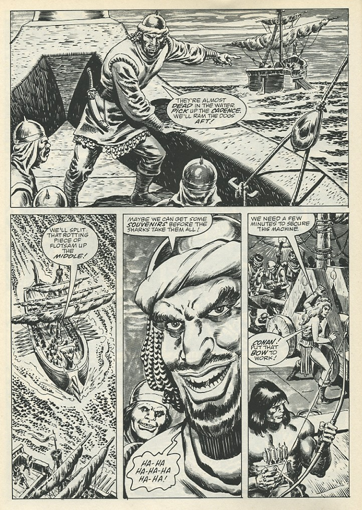 The Savage Sword Of Conan Issue #139 #140 - English 20