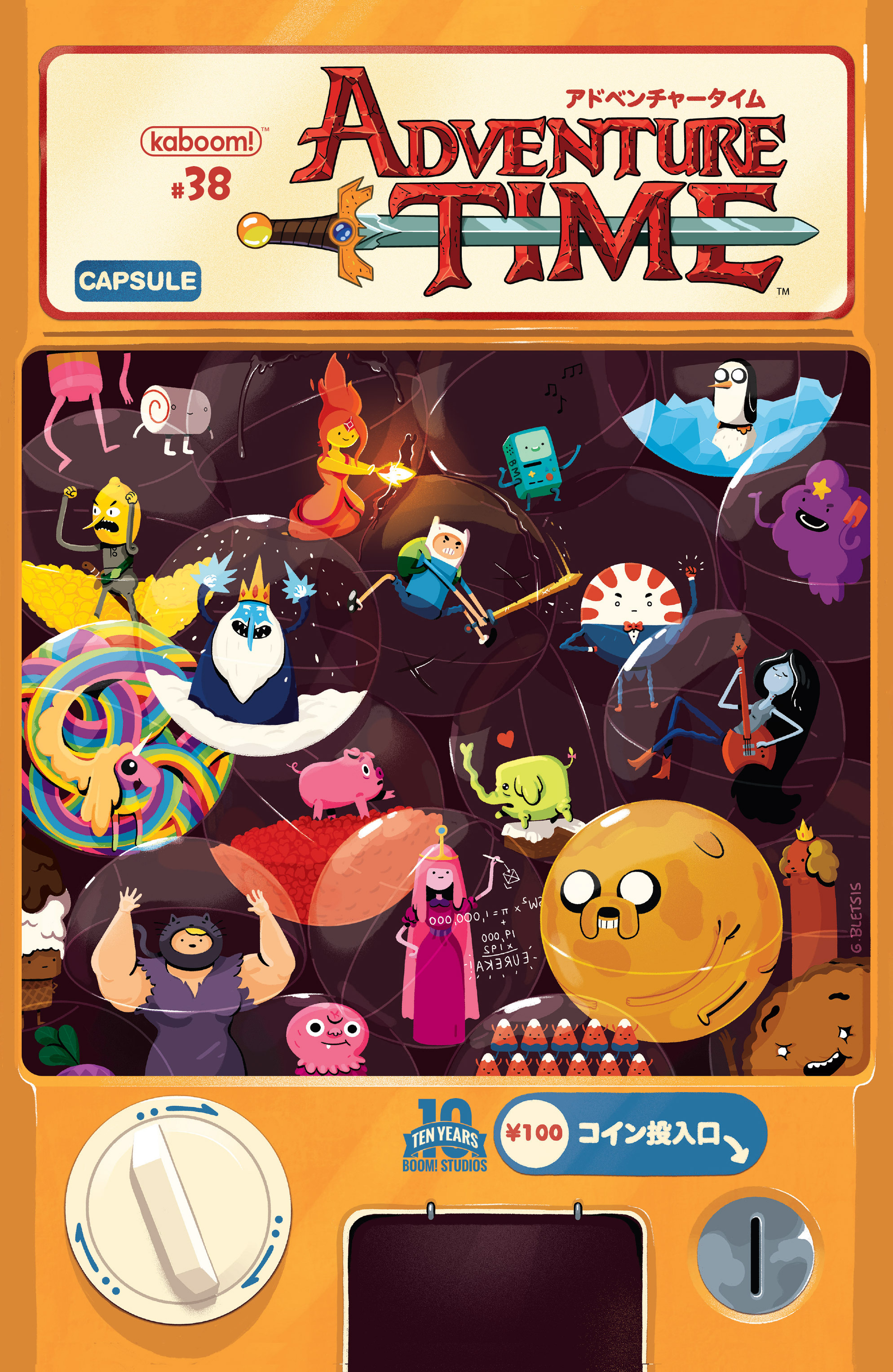 Adventure Time 38 Page 1