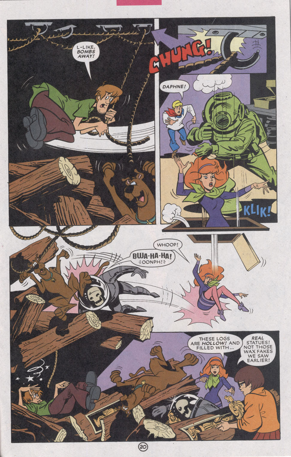 Read online Scooby-Doo (1997) comic -  Issue #74 - 31