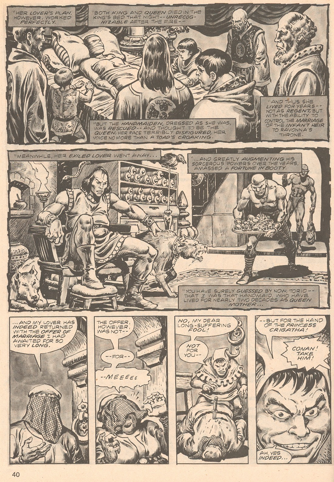 The Savage Sword Of Conan Issue #66 #67 - English 40