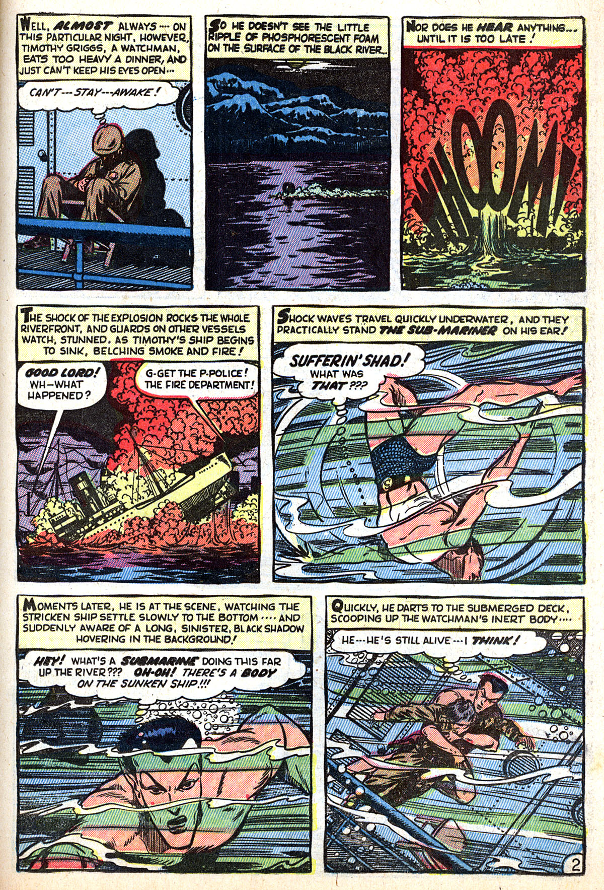 Sub-Mariner Comics #33 #33 - English 13