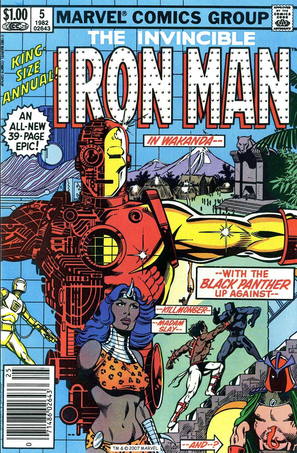 Iron Man Annual 5 Page 1