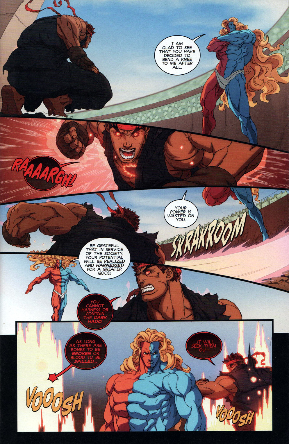 Street Fighter Unlimited Issue #10 #12 - English 9