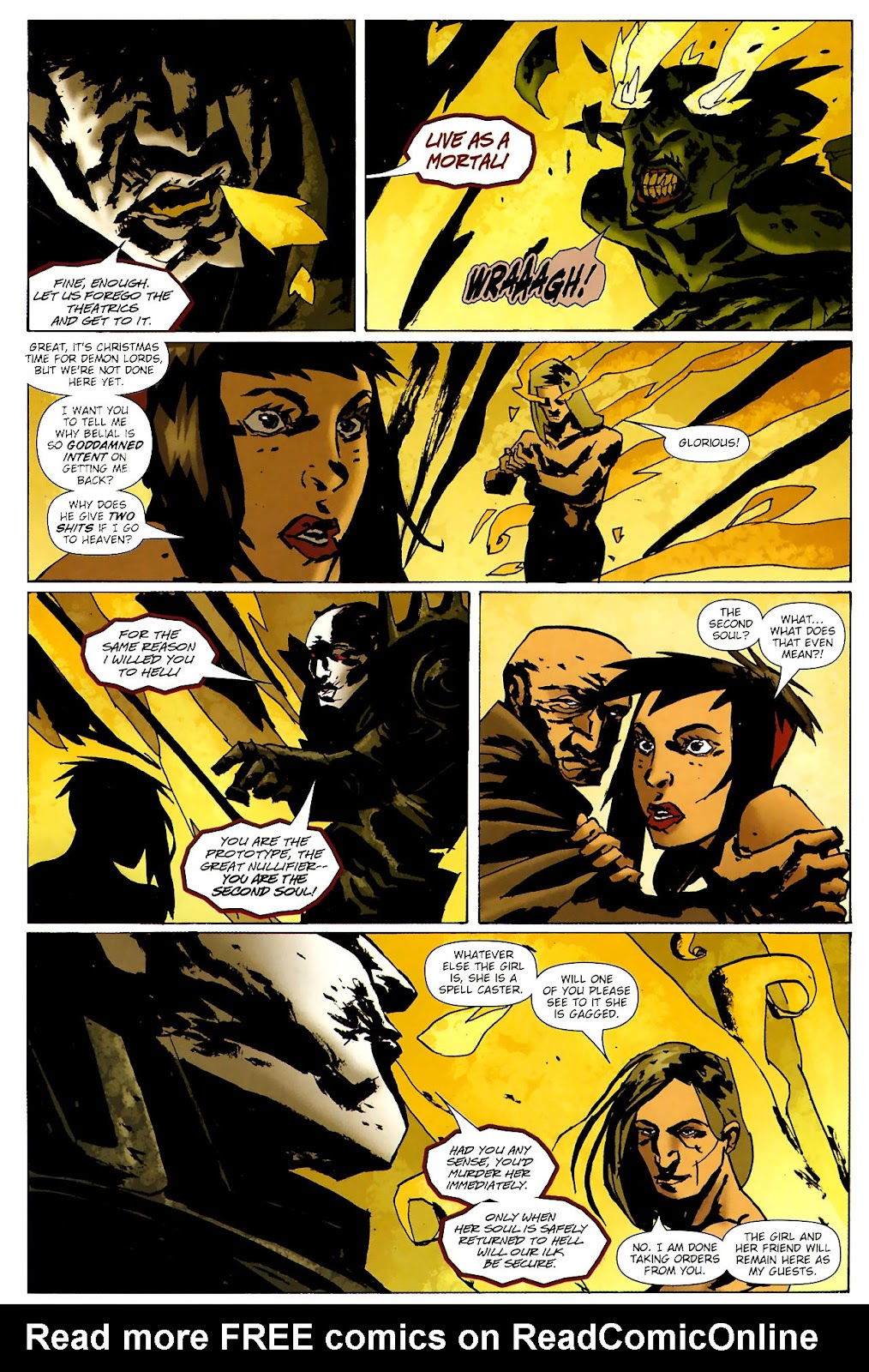 Strange Girl Issue #15 #16 - English 12