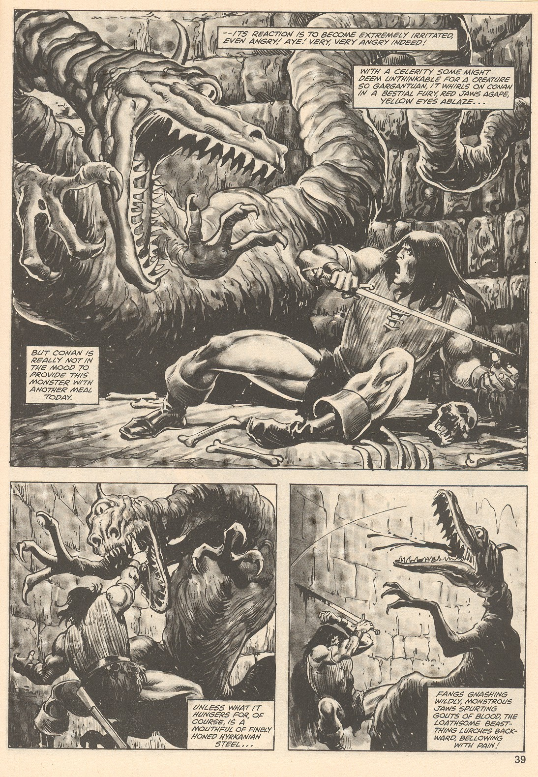 The Savage Sword Of Conan Issue #76 #77 - English 39