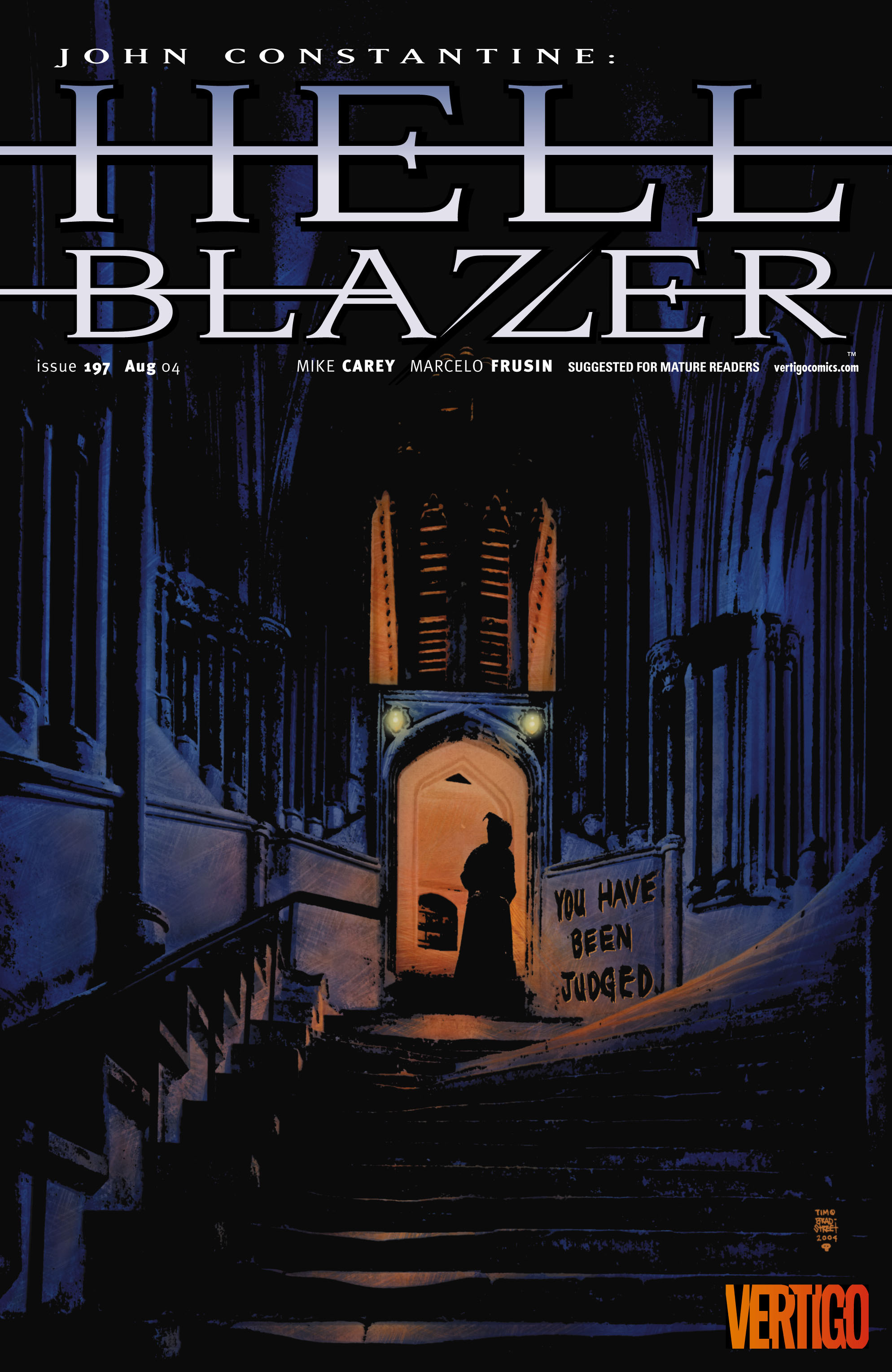 Hellblazer 197 Page 1