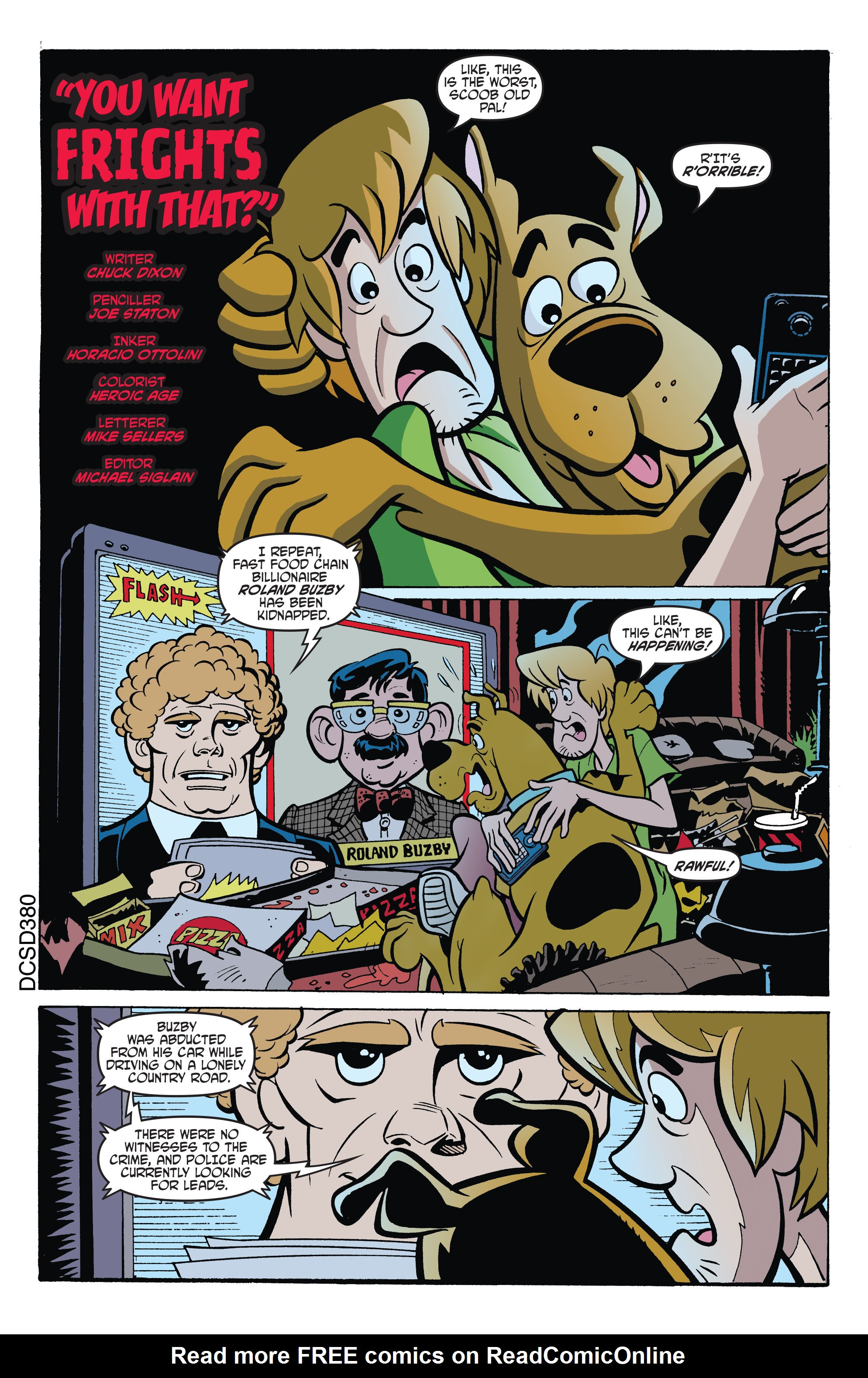 Read online Scooby-Doo: Where Are You? comic -  Issue #66 - 14