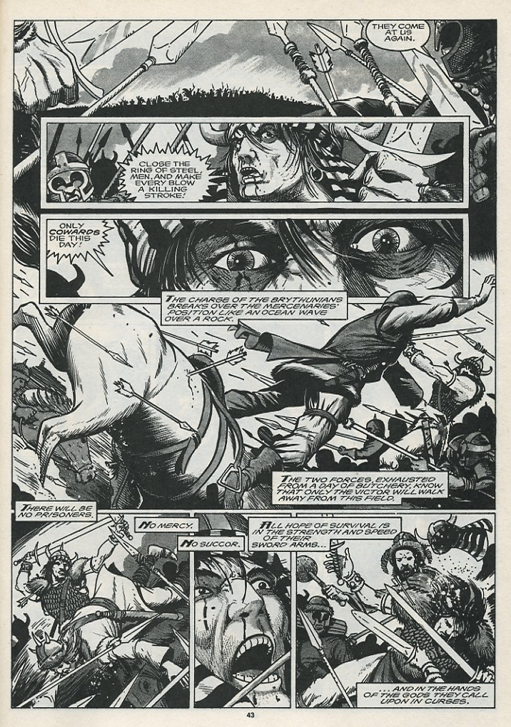 The Savage Sword Of Conan Issue #176 #177 - English 45