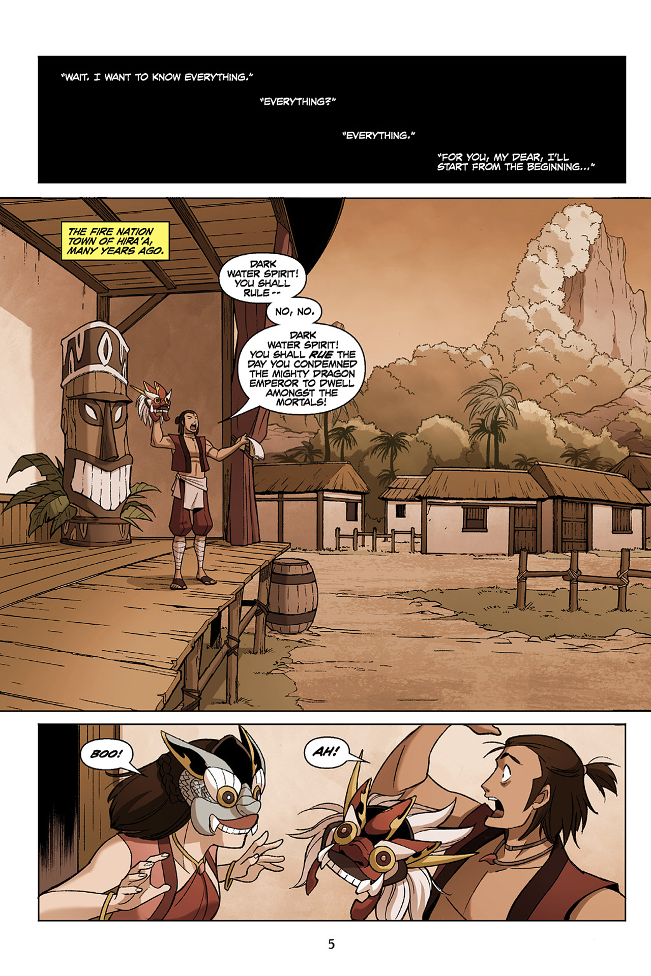 Read online Nickelodeon Avatar: The Last Airbender - The Search comic -  Issue # Part 1 - 6