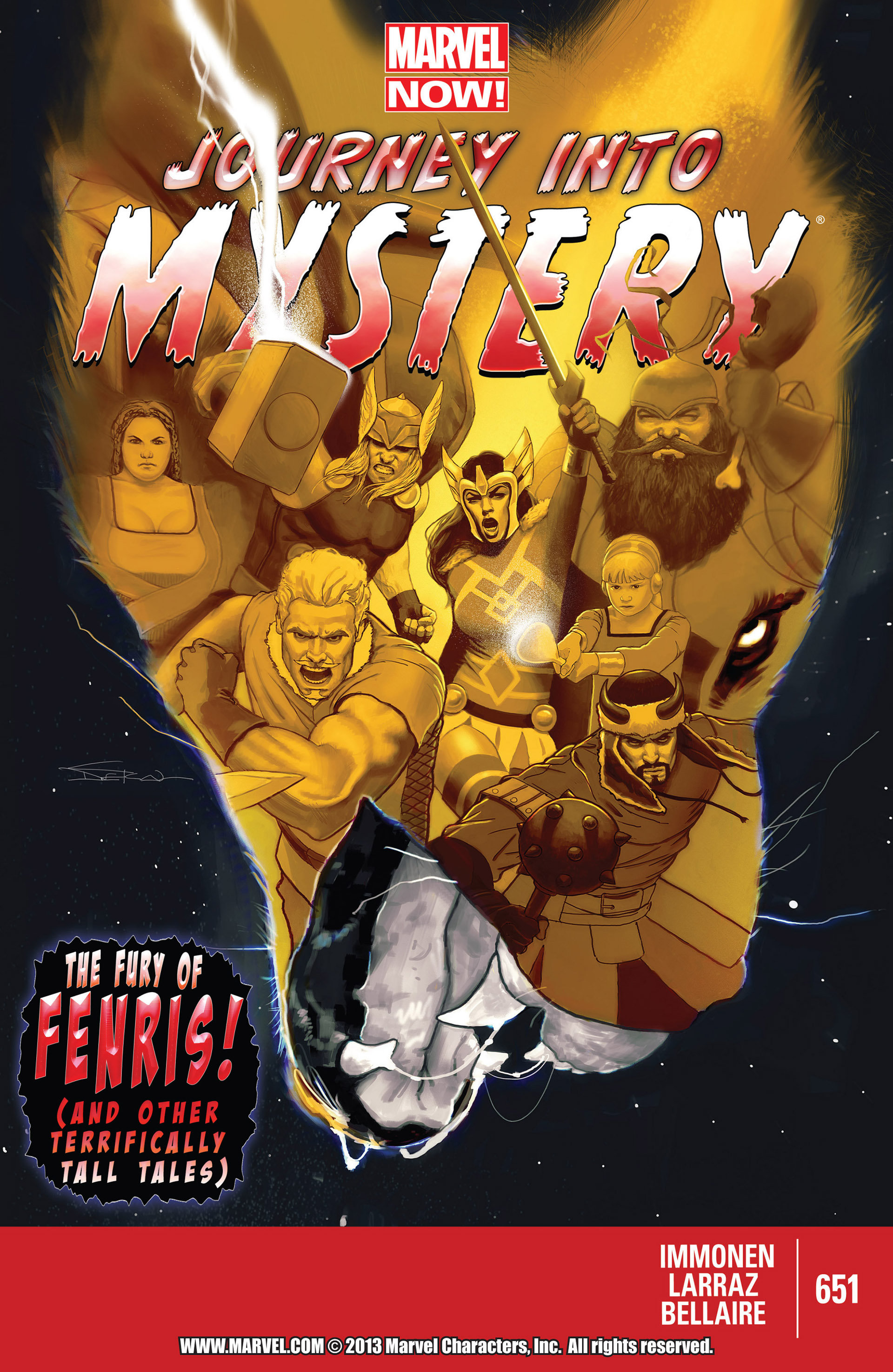 Read online Journey into Mystery (2011) comic -  Issue #651 - 1