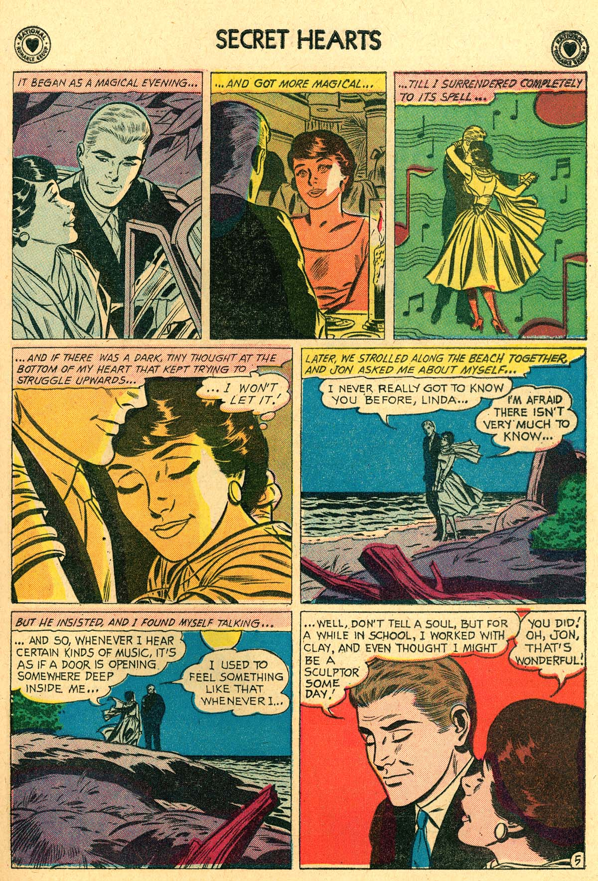 Read online Secret Hearts comic -  Issue #69 - 15