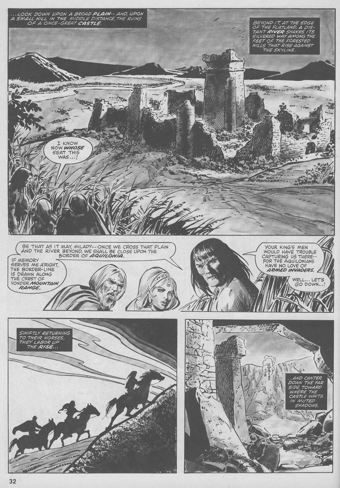 The Savage Sword Of Conan Issue #44 #45 - English 32