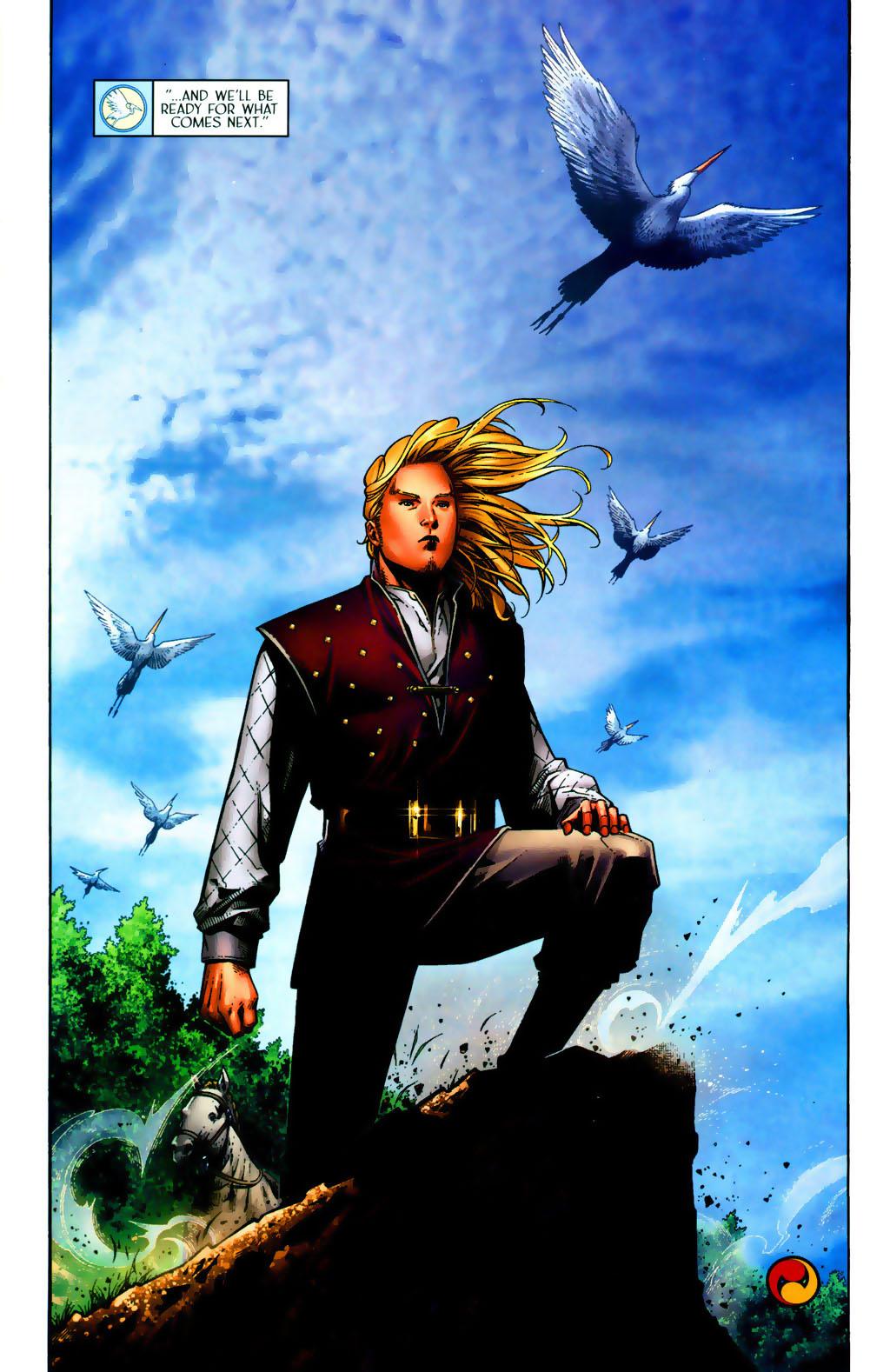 Read online Scion comic -  Issue #38 - 23