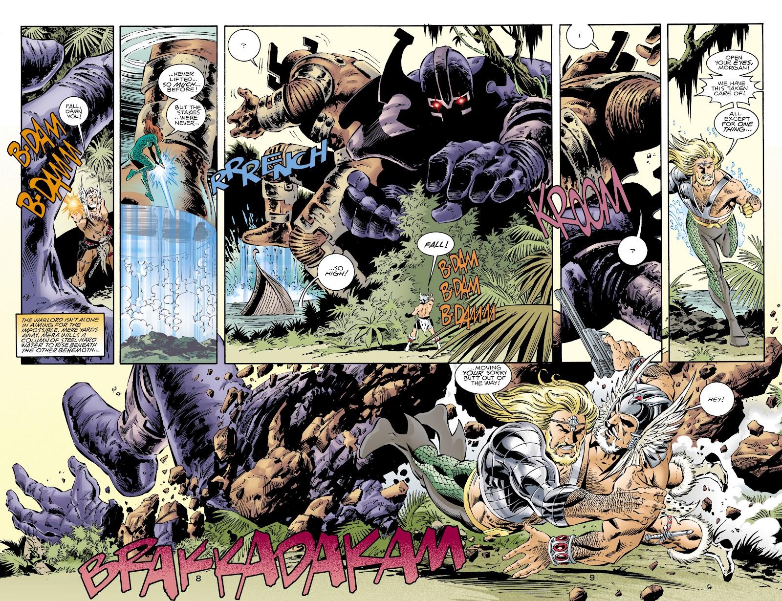 Aquaman (1994) Issue #72 #78 - English 8
