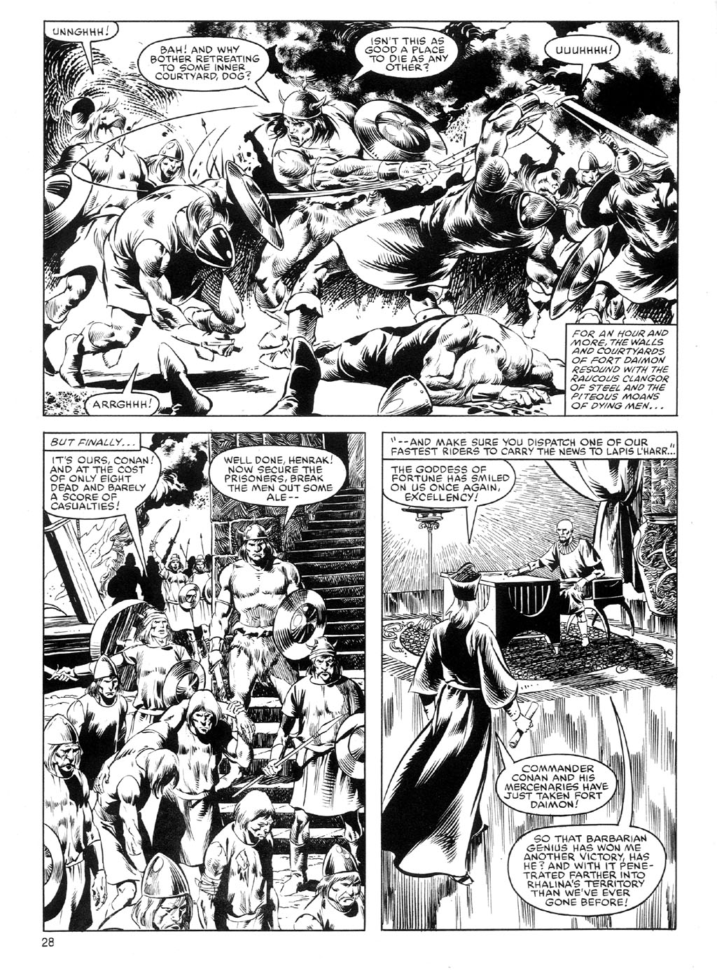 The Savage Sword Of Conan Issue #91 #92 - English 27