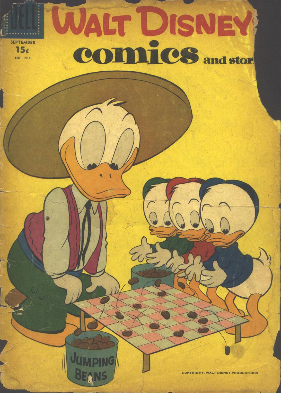 Walt Disneys Comics and Stories 204 Page 1
