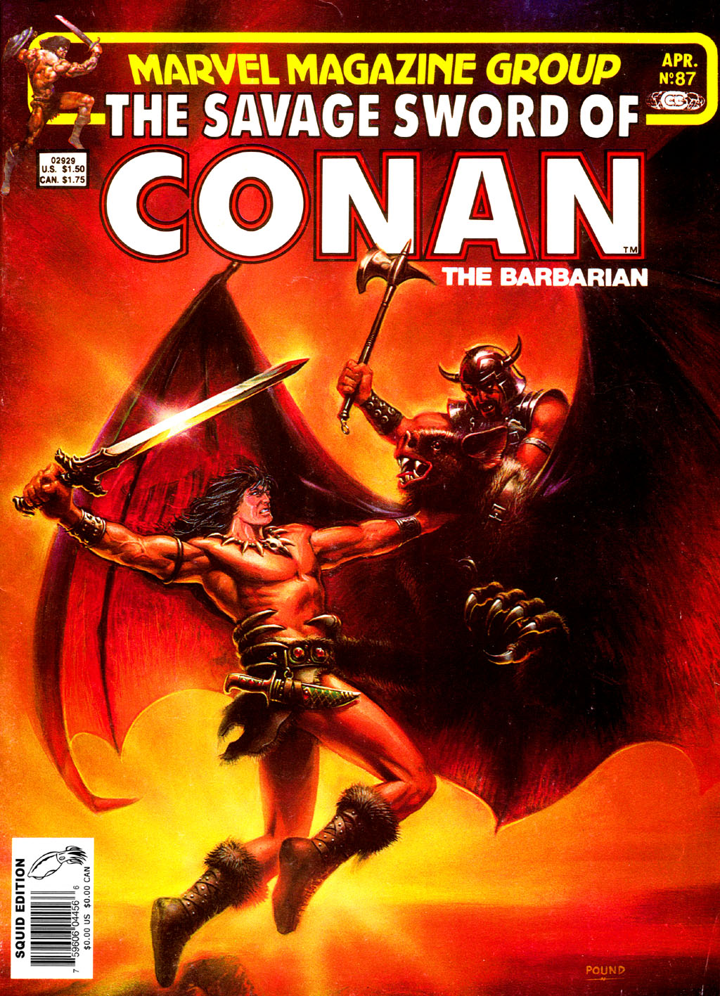 The Savage Sword Of Conan Issue #87 #88 - English 1