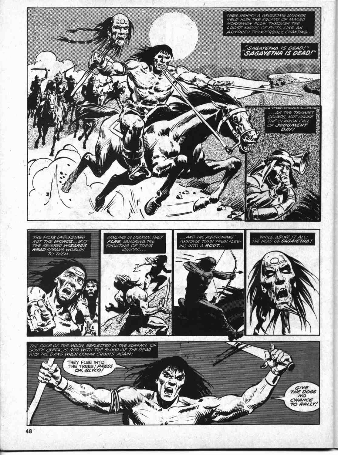 The Savage Sword Of Conan Issue #46 #47 - English 47