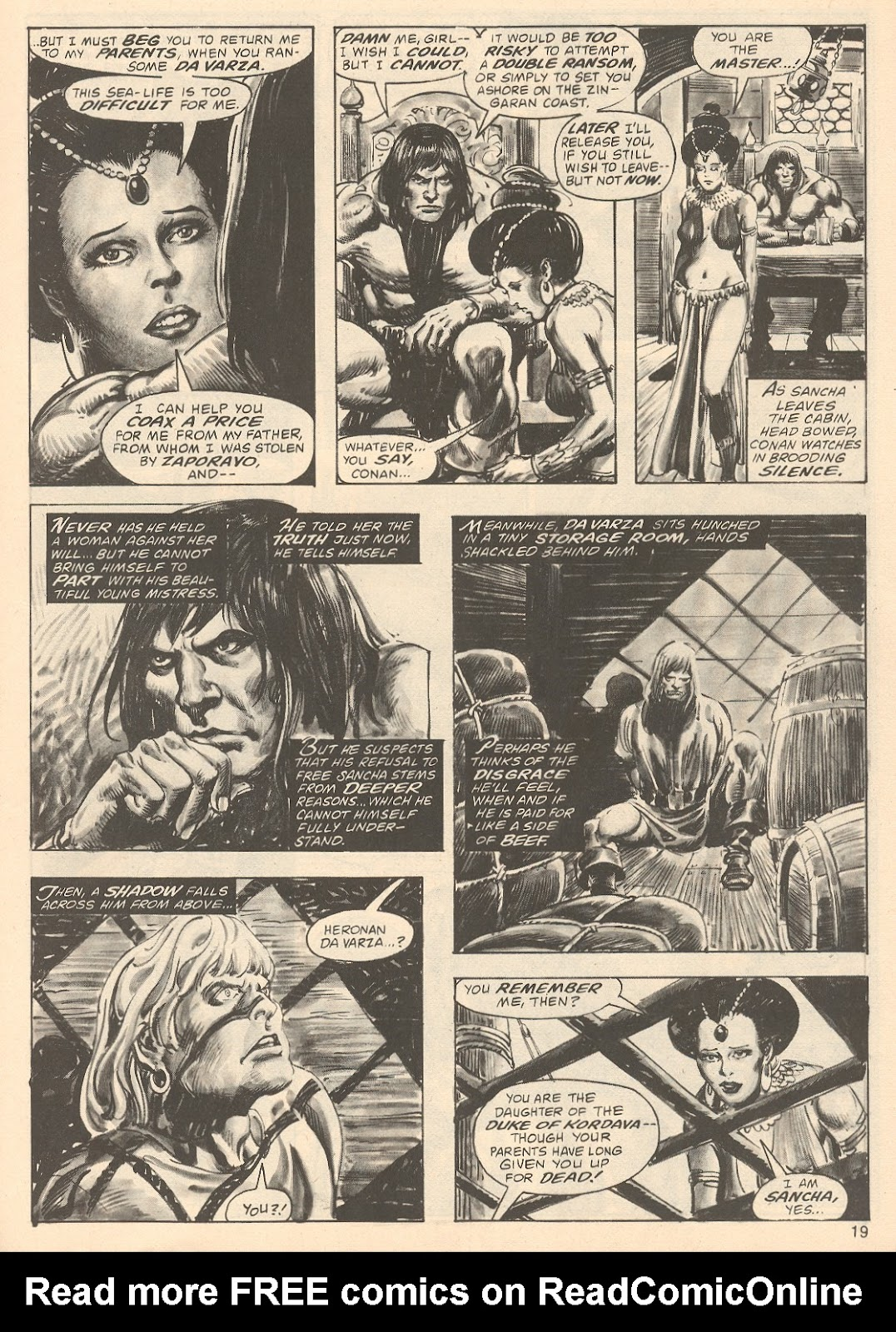 The Savage Sword Of Conan Issue #67 #68 - English 19