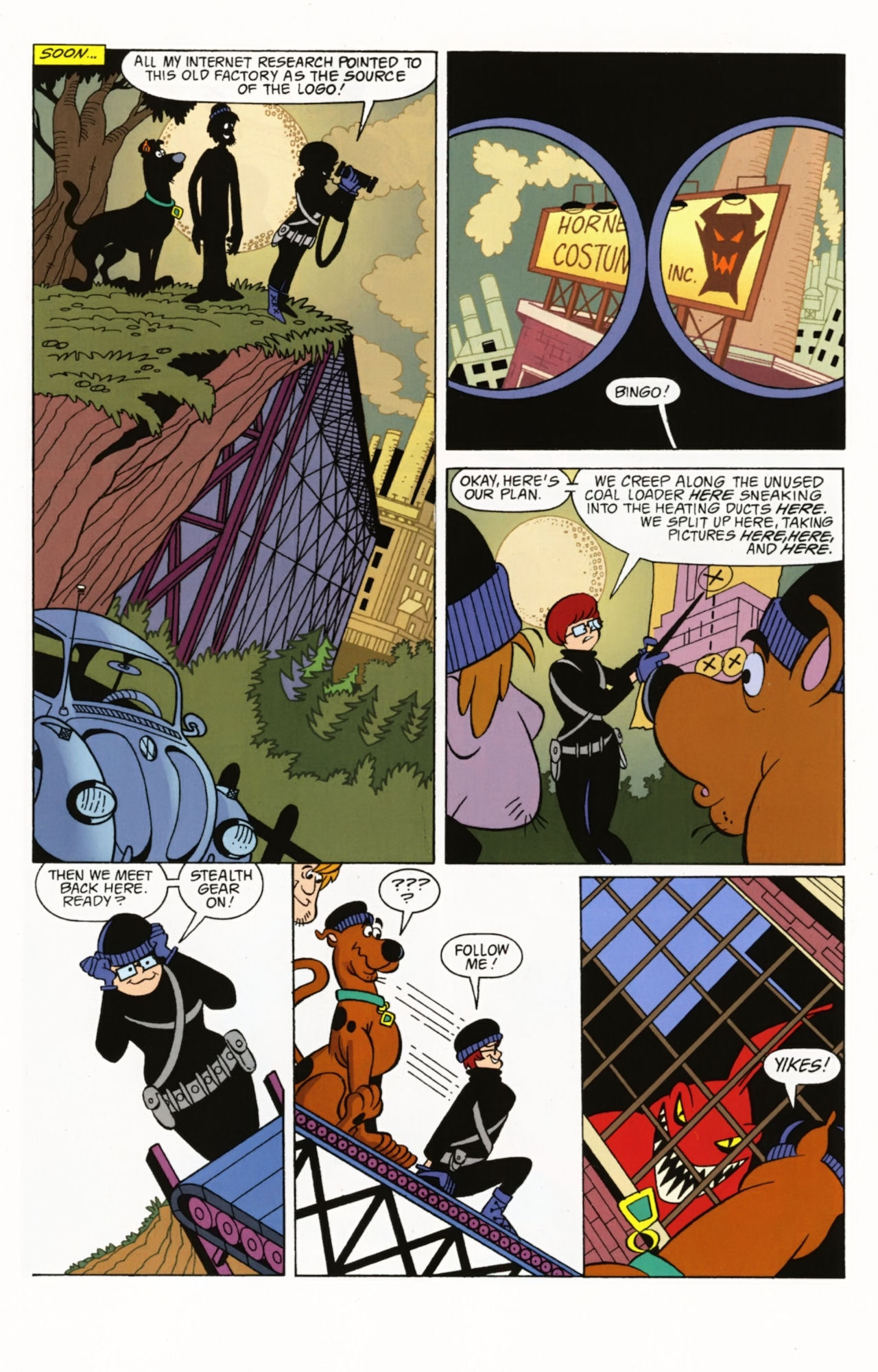 Read online Scooby-Doo: Where Are You? comic -  Issue #2 - 22
