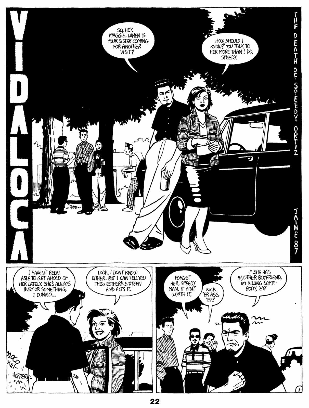 Love and Rockets (1982) Issue #21 #20 - English 24