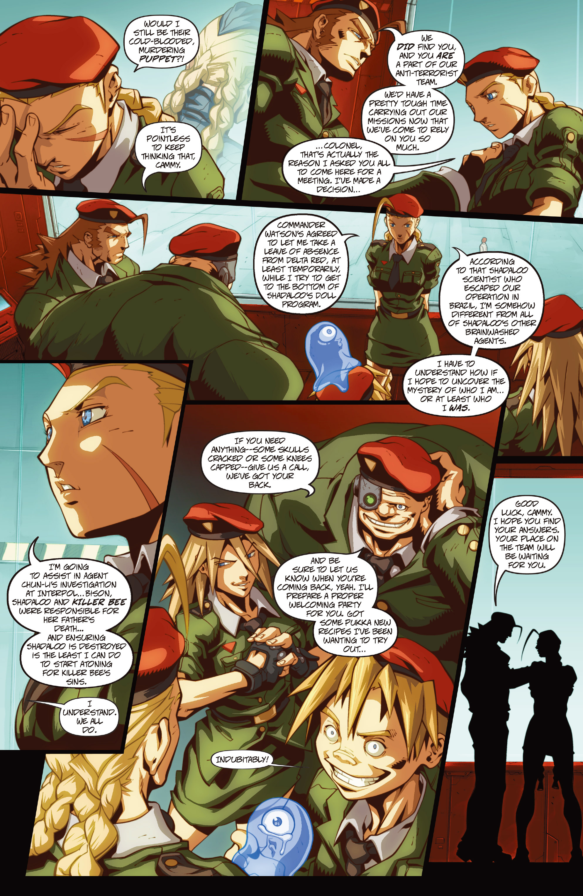 Street Fighter II chap 1 pic 25