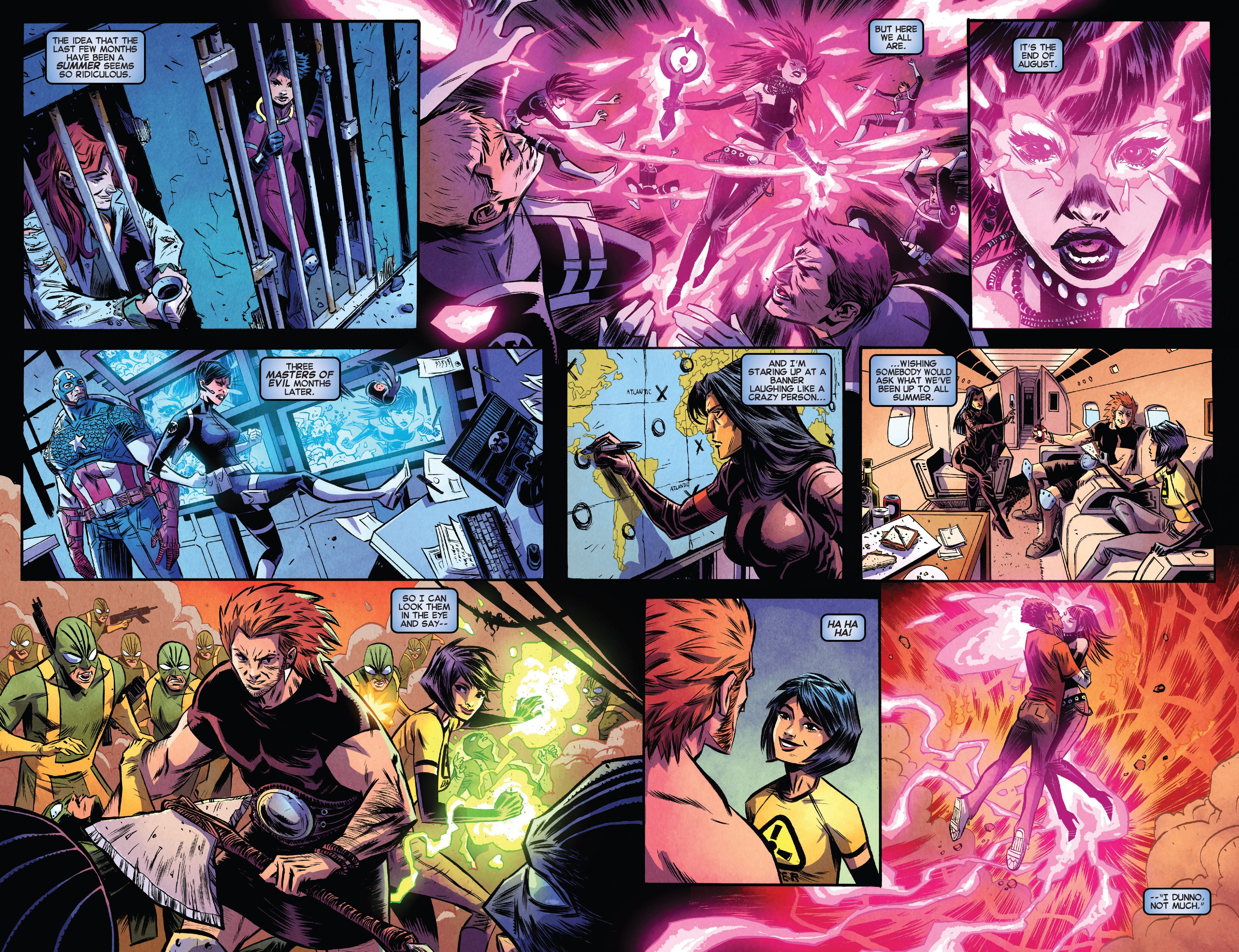 Read online Avengers Undercover comic -  Issue #8 - 4
