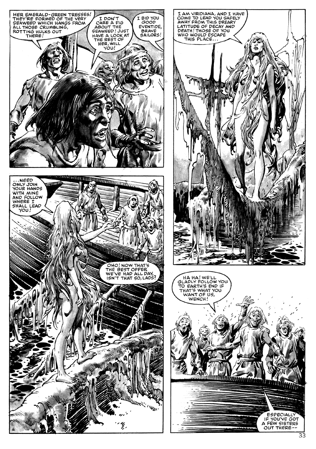 The Savage Sword Of Conan Issue #101 #102 - English 33