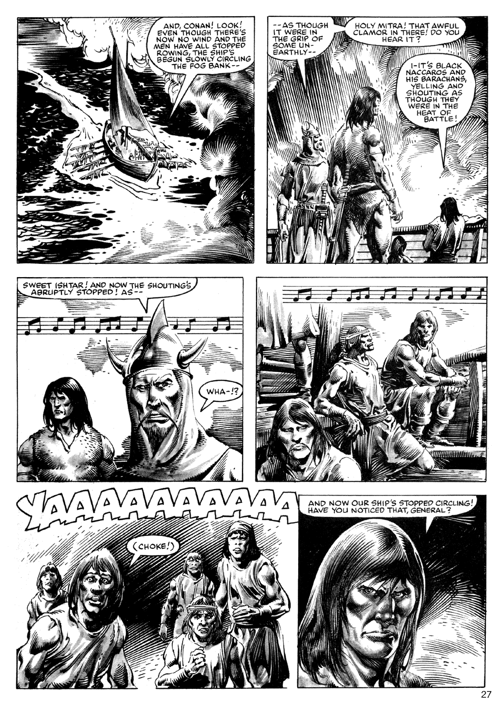 The Savage Sword Of Conan Issue #101 #102 - English 27