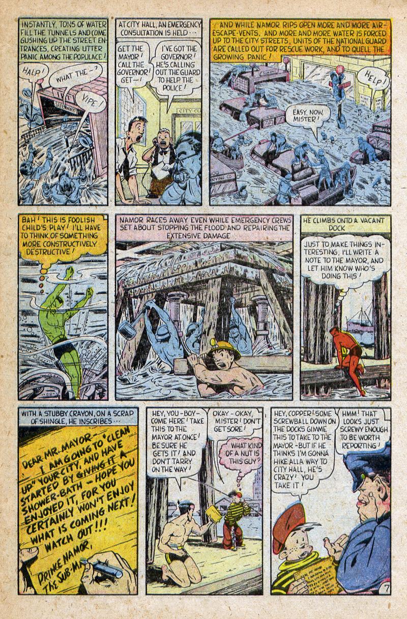 Sub-Mariner Comics #32 #32 - English 27